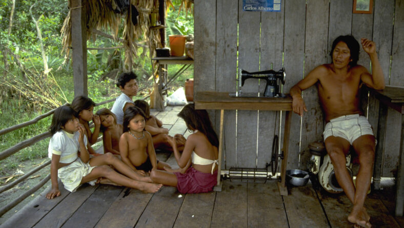 Småbonde i Amazonas