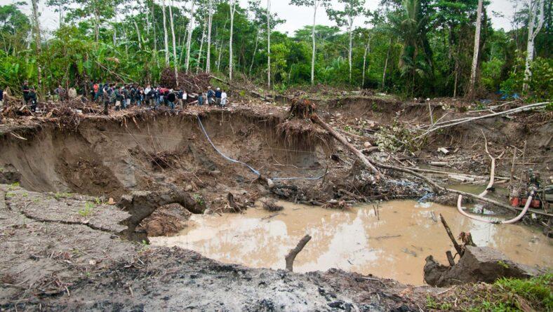 Guldgraveren i Amazonas