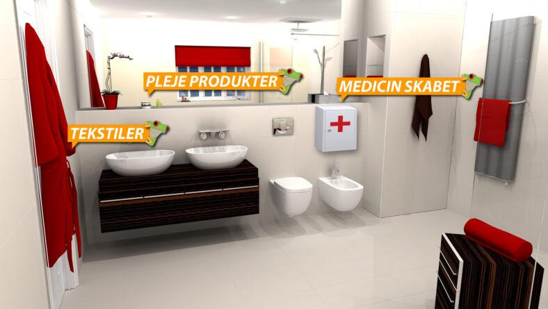 Regnskovsprodukter i badeværelset