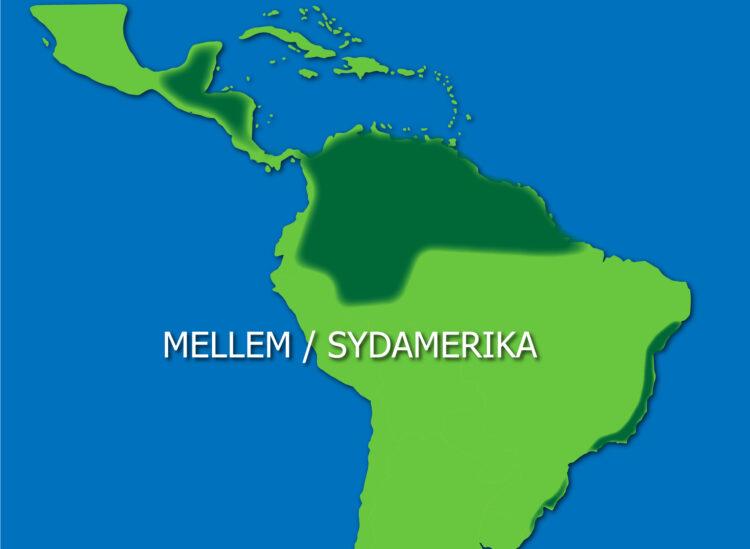 Mellem- og Sydamerika