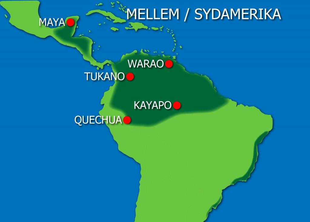 Oprindelige Folk I Mellem Og Sydamerika