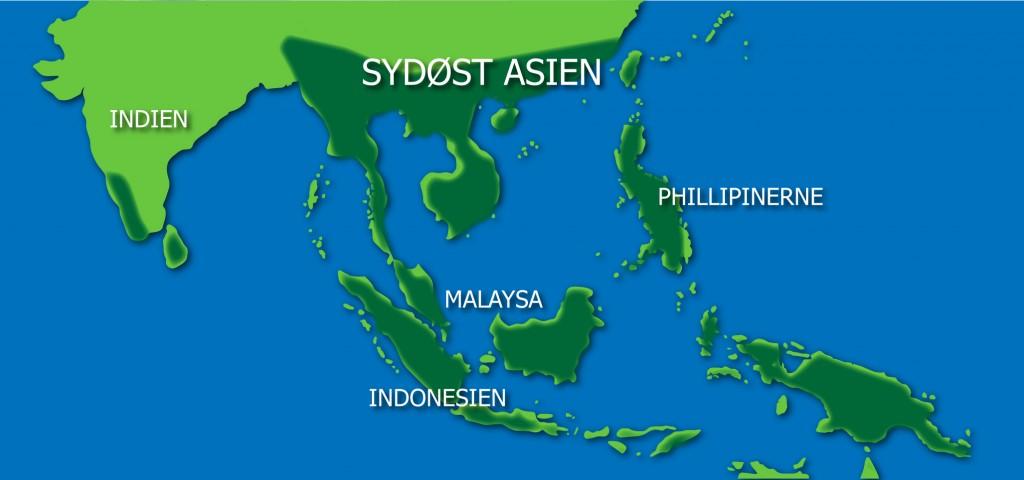Regnskove Sydøst Asien