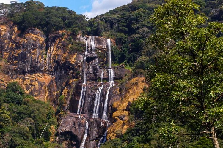 En nationalpark i Tanzania